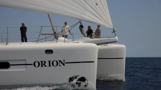 #8 Orion is  Amazingly easy to sail