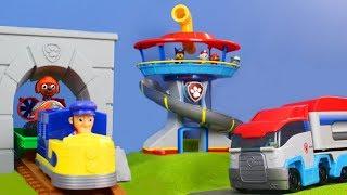Feuerwehrmann Marshall, Chase & Ryder best of der neuen Folgen mit Play Doh und Zug