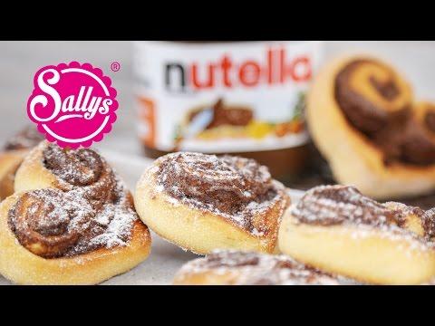 Nutella-Herzen / schnelles Rezept zum Valentinstag / Sallys Welt