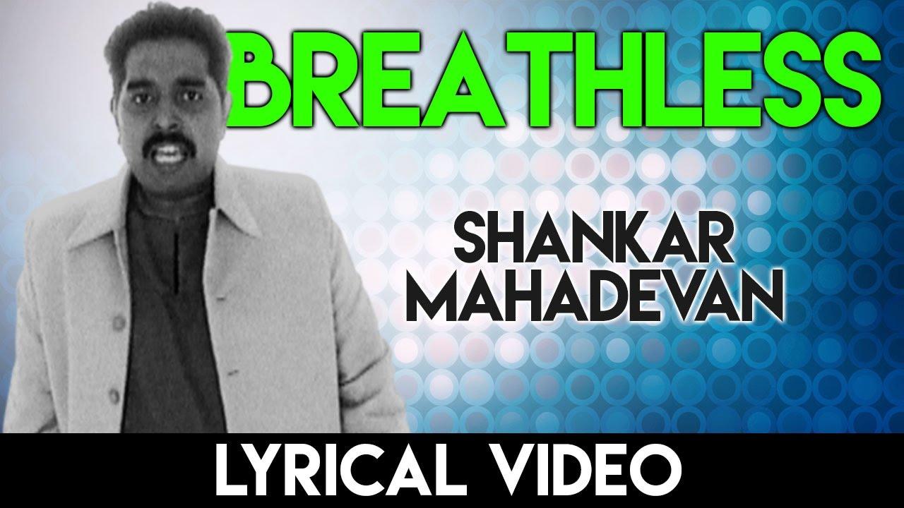 breathless shanker mahadevan mp3