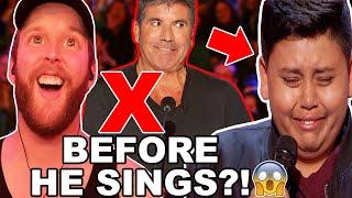 🎤Singer Reacts To Luke Islam Golden Buzzer From Julianne Hough! America's Got Talent 2019 🇺🇸🎶