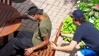 Zapętlaj Ultimate Chair Pulling Pranks Compilation (Funniest Public Pranks 2018) | PrankCity