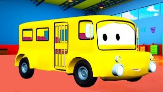 Lily the Bus 🚌 and her friends in Car City like Tom the Tow Truck Cars and Trucks Cartoons for Kids