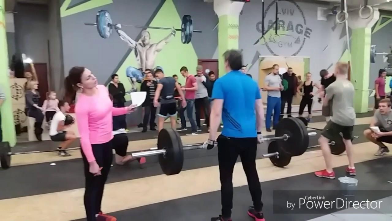 Lviv garage gym Турнір з кросфіту  р wod