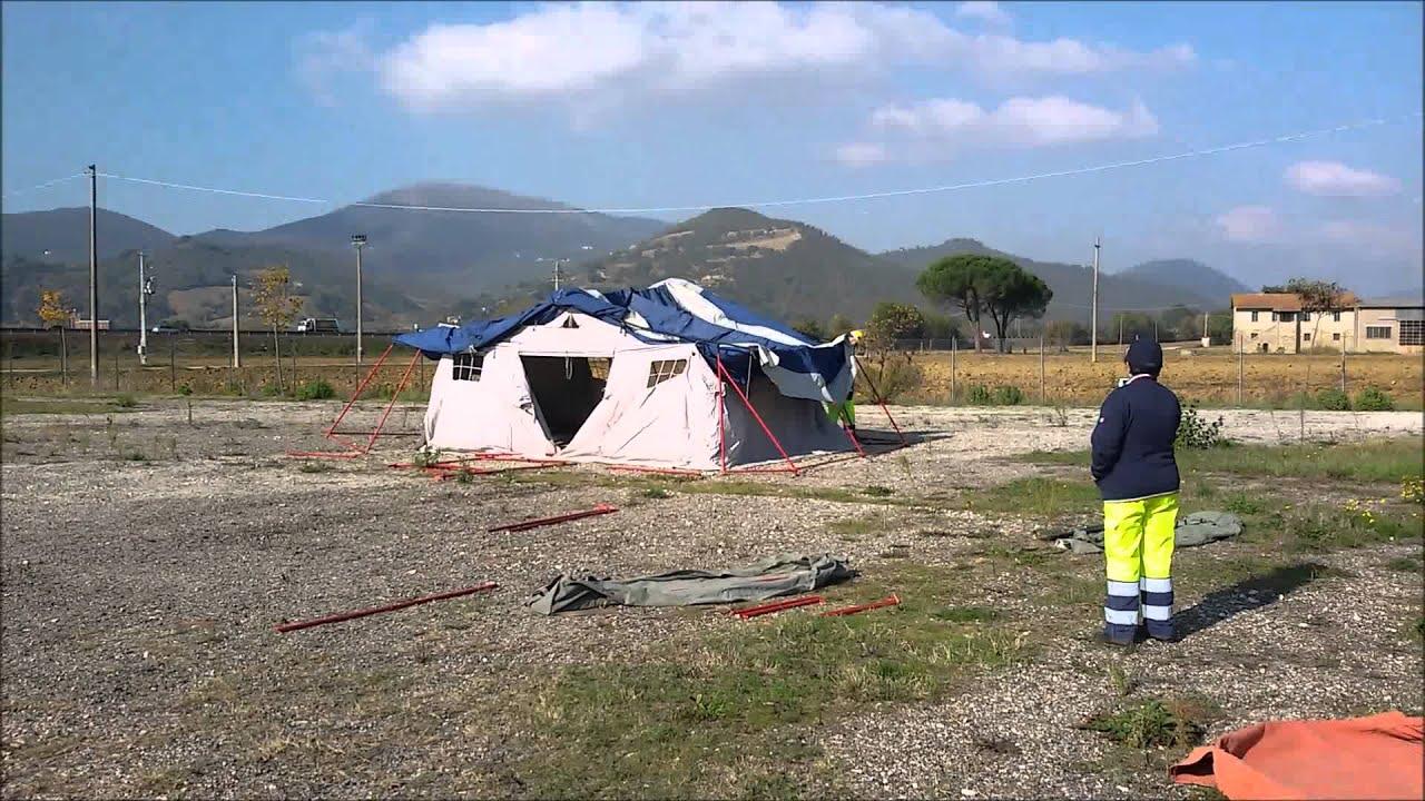 Tenda Da Campo.Montaggio Tenda Da Campo