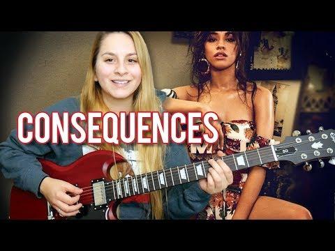 Consequences Camila Cabello | EASY Guitar Tutorial NO CAPO!
