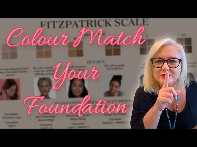 How to colour match the Savvy Minerals by Young Living Liquid Foundation Foundation?