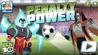 Ben 10: Penalty Power - Vilgax has challenged Ben to a Penalty Shoot Out (Cartoon Network Games)