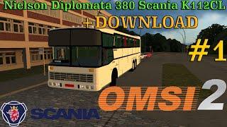 [OMSI 2] Nielson Diplomata 380 Scania K112CL [+Download] | Ônibus Antigos #1