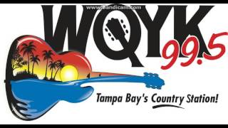 99.5 WQYK-FM St. Petersburg, FL (Country) 9pm TOTH (2/13/14)