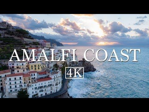 Amalfi Coast by Drone (4K)
