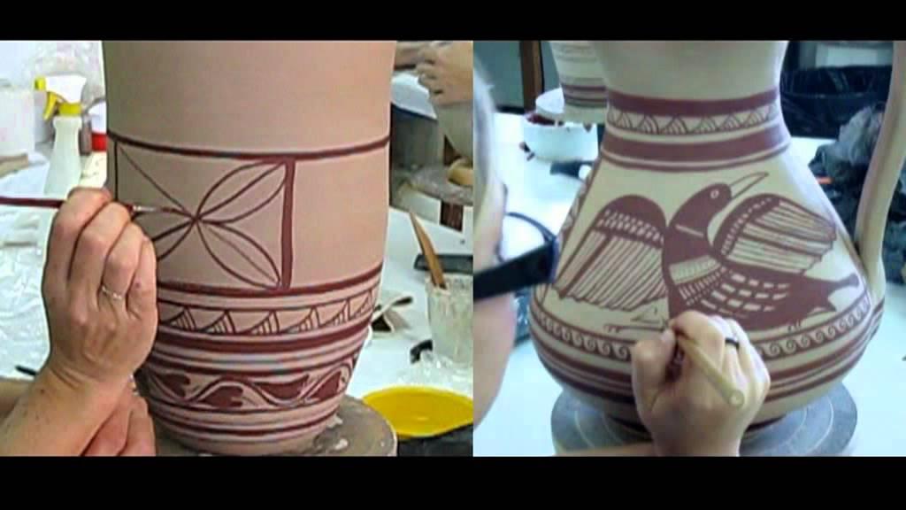 Ceramica ib rica construcci n y decoraci n youtube - Decoracion de platos ...