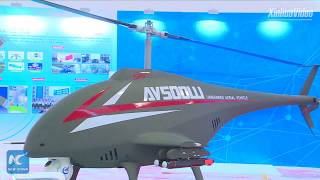 New China TV - AV500W Unmanned Autonomous Combat Helicopter Unveiled [1080p]