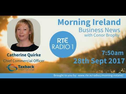 Catherine Quirke on RTÉ Radio 1 Morning Ireland