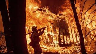 Пожары в Калифорнии | Он-лайн карта