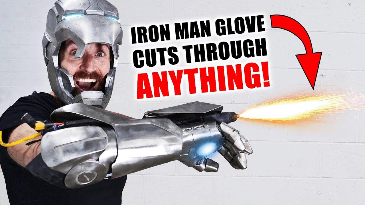 Iron Man Plasma Glove CUTS THROUGH EVERYTHING! (+ GIVEAWAY)