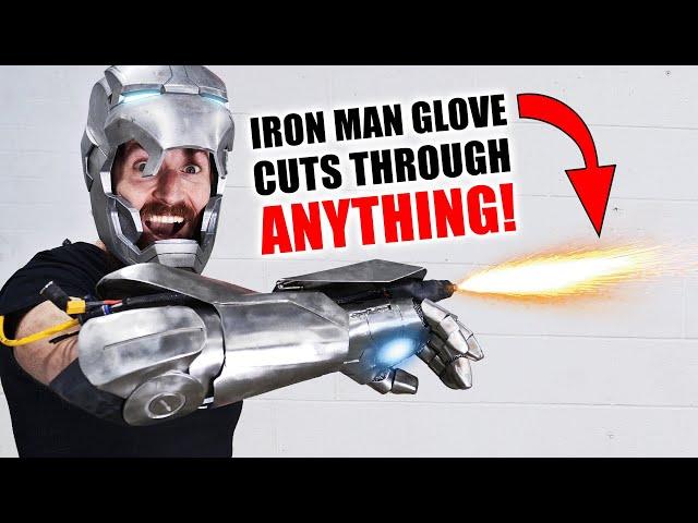 Инженеры собрали перчатку Железного человека со встроенным плазменнымрезаком