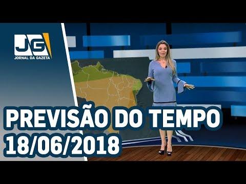 Previsão do Tempo - 18/06/2018