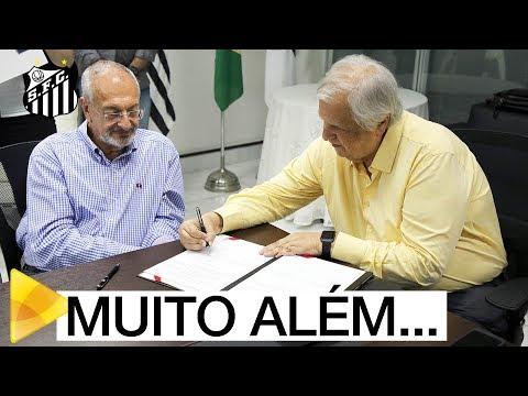"""Santos FC e Secretaria Estadual de Educação assinam parceria """"Adoção Afetiva"""""""