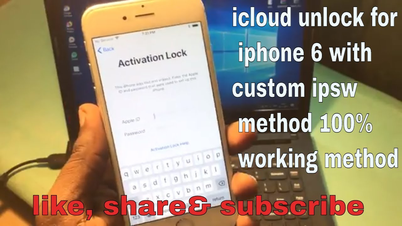 Icloud Unlock For Iphone 6 With Custom Firmware Method