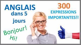 Apprenez l'anglais en 5 jours - Conversation pour les débutants