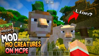 MOD MO CREATURES ON MCPE 1.8/ 1.10 [DOWNLOAD NOW] *No Clickbait