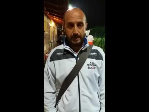 S Sebastiano-Pedona 2-1. Cordero nel post partita