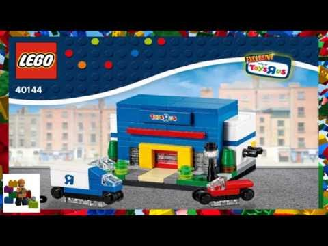 LEGO Instructions - Promotional - Toys R Us - 40144 - Bricktober Toys R Us Store