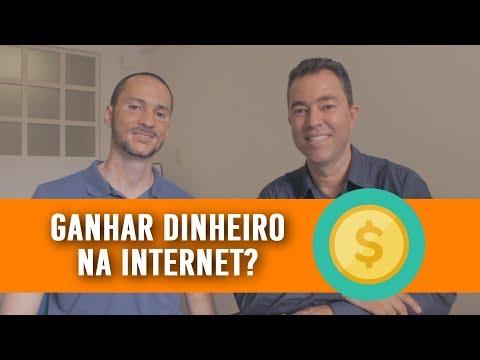 Como GANHAR DINHEIRO na Internet trabalhando em casa! | Feat Marcos Lemos