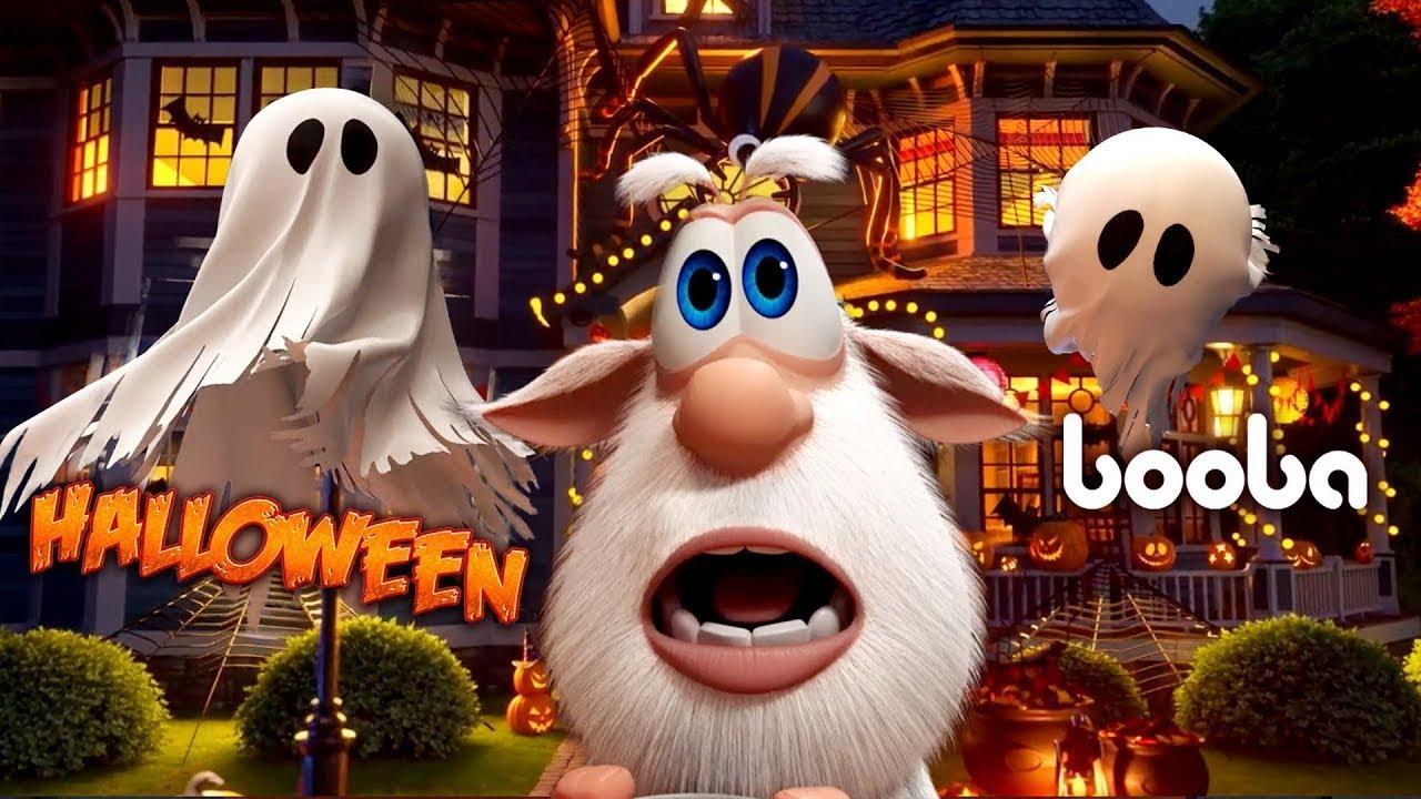 Буба 🎃 🧟♂️ Хэллоуинский сборник 🎃 🧟♂️  Смешной Мультфильм 2020  👍  Kedoo мультики для детей