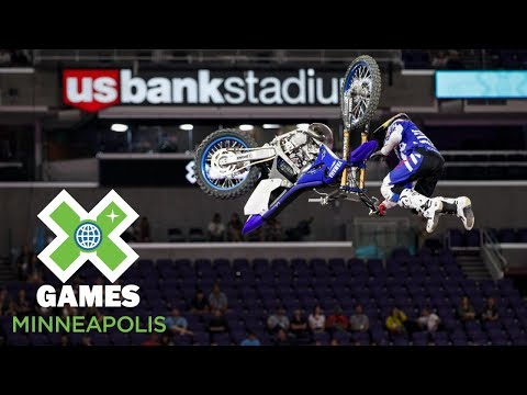 Tom Pages wins Moto X Freestyle gold | X Games Minneapolis 2018