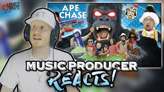 Music Producer Reacts to APE CHASE - FGTeeV