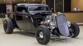 1933 Ford 3 Window Coupe Street Rod For Sale