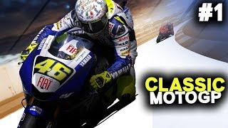 MotoGP 08 Career Mode Part 1 - IT'S A CLASSIC