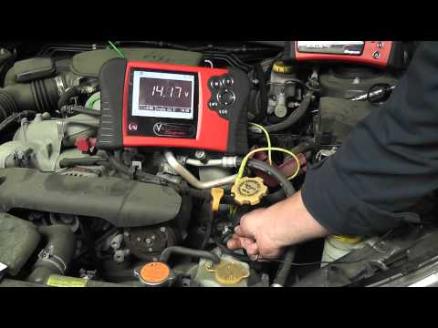 How to test Intake Valve Control Solenoids (codes P0028, P0082) - Subaru