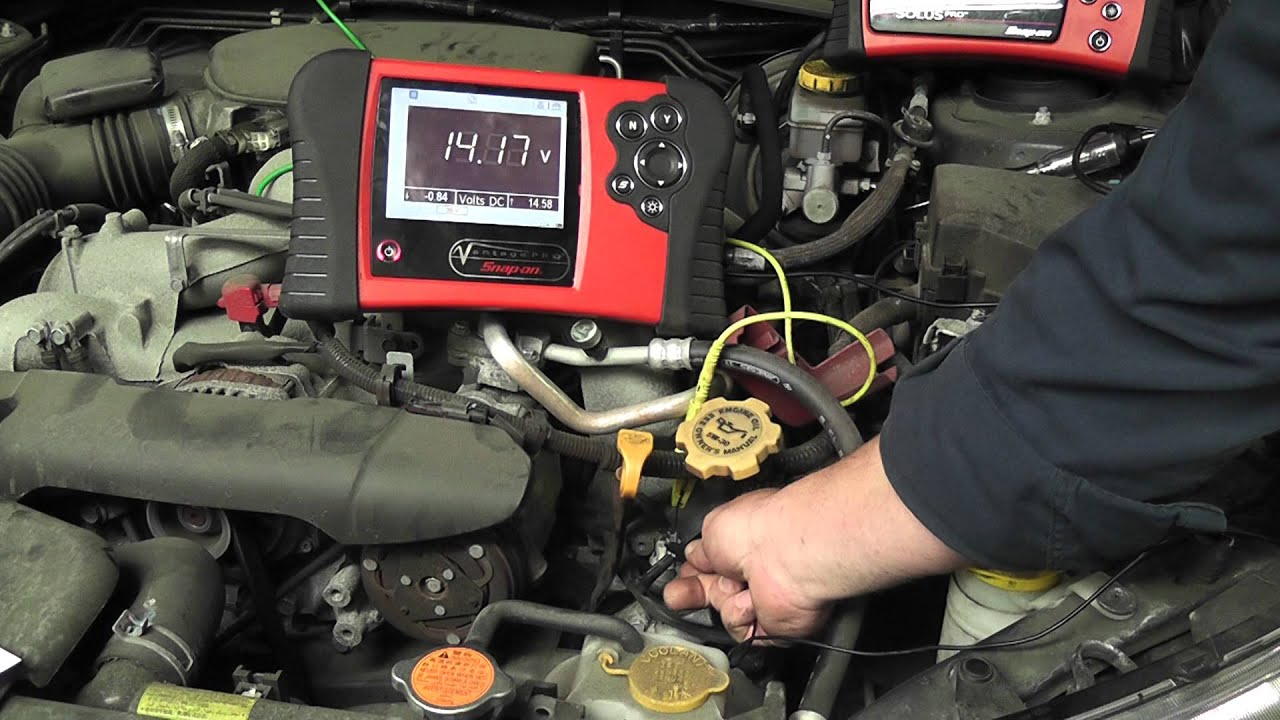 Subaru Impreza Exhaust System Diagram 1978 Jeep Cj7 Wiring How To Test Intake Valve Control Solenoids (codes P0028, P0082) - Youtube