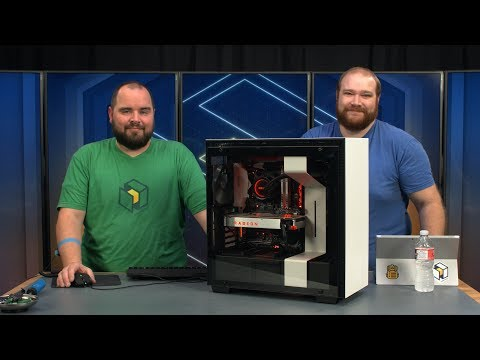 NZXT H700i Build - Ryzen 7 1700 / RX VEGA 64 (Livestream Archive)