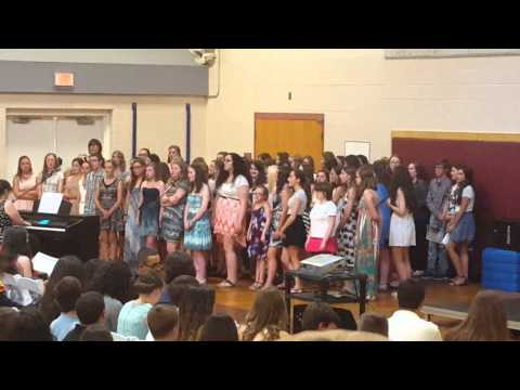 Plymouth South Middle School Chorus Graduation