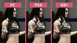 WWE 2K18 – PC vs. PS4 vs. Xbox One Graphics Comparison