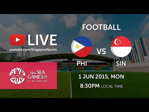 Football: Philippines vs Singapore | 28th SEA Games Singapore 2015