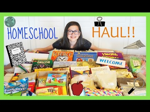 Homeschool Unboxing! | K12 6th Grade