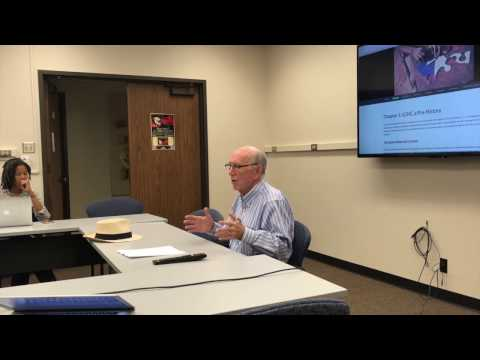 """LCHC Talk: """"Positioning the Observer"""" by Professor Mike Cole, UCSD 04142017"""