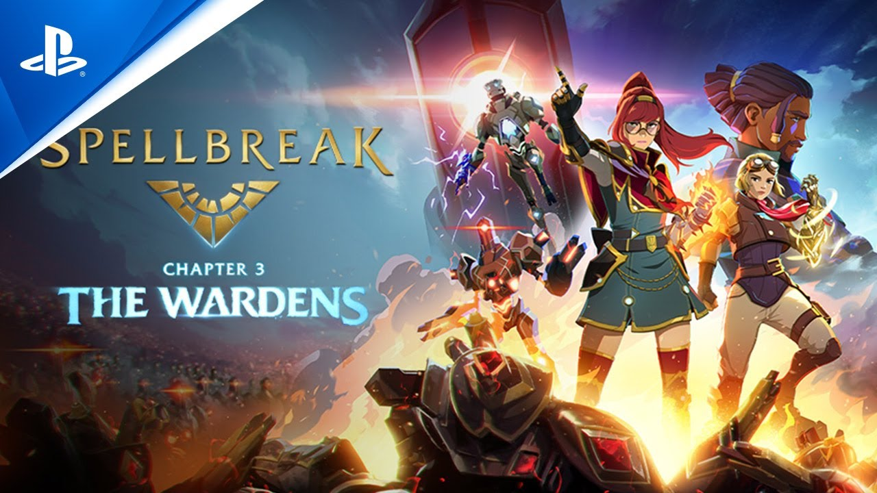 Spellbreak - Chapter 3: The Wardens Launch Trailer | PS4