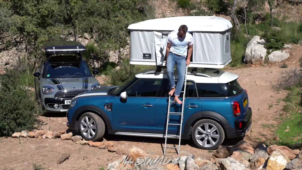 New 2017 MINI Cooper S Countryman with Roof Tent for Everyone Who Wants to Getaway C&ing in Car & New 2017 MINI Cooper S Countryman with Roof Tent for Everyone Who ...