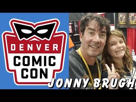Presley s Jonny Brugh at Denver Comic Con 2018