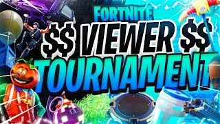 🔴 Fortnite VIEWER $$ Tournament | Come Play and WIN Money | Febuary 21 2019