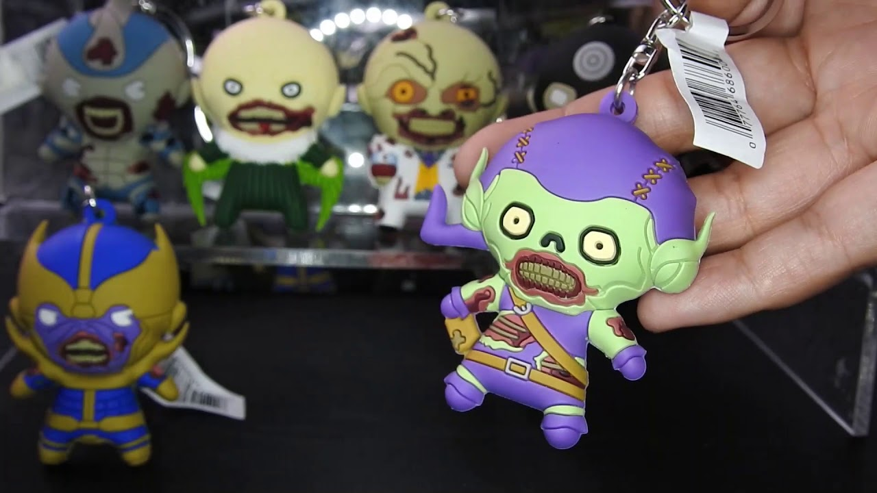 Marvel Villains Zombies Key Rings Blind Bag Collection Review