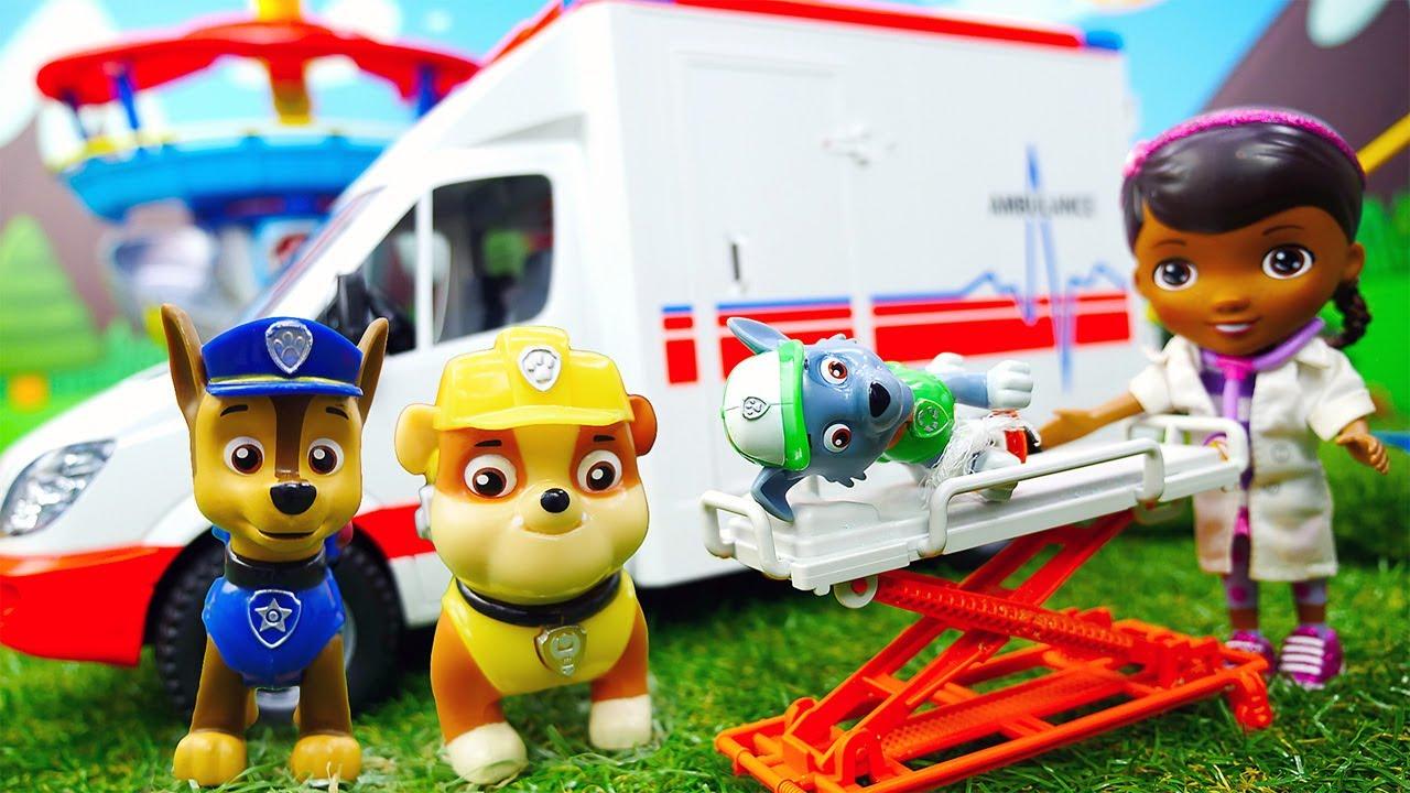 Рассказ про игрушки щенячий патруль