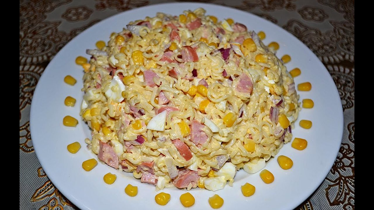 салат минутка рецепт из мивины