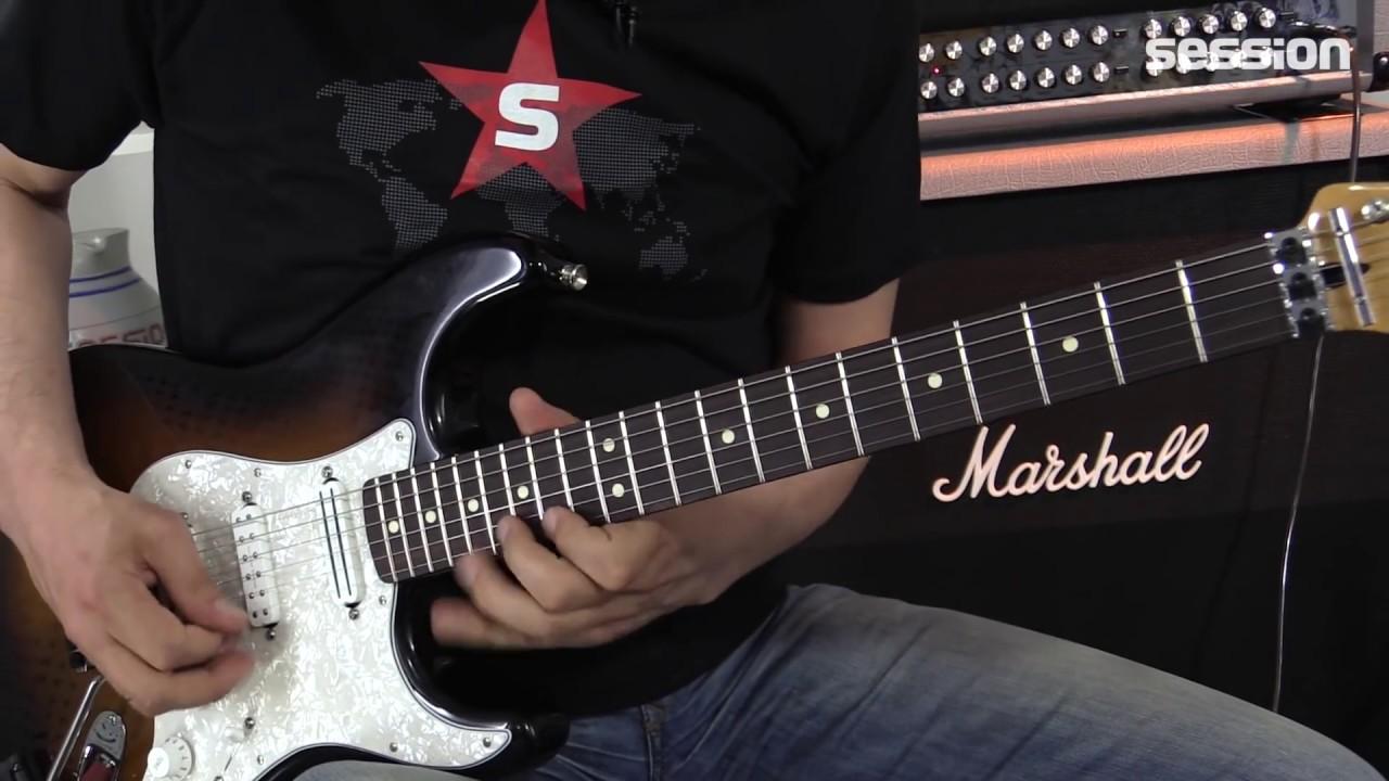 Fender Dave Murray Stratocaster HHH MN 2TS - YouTube